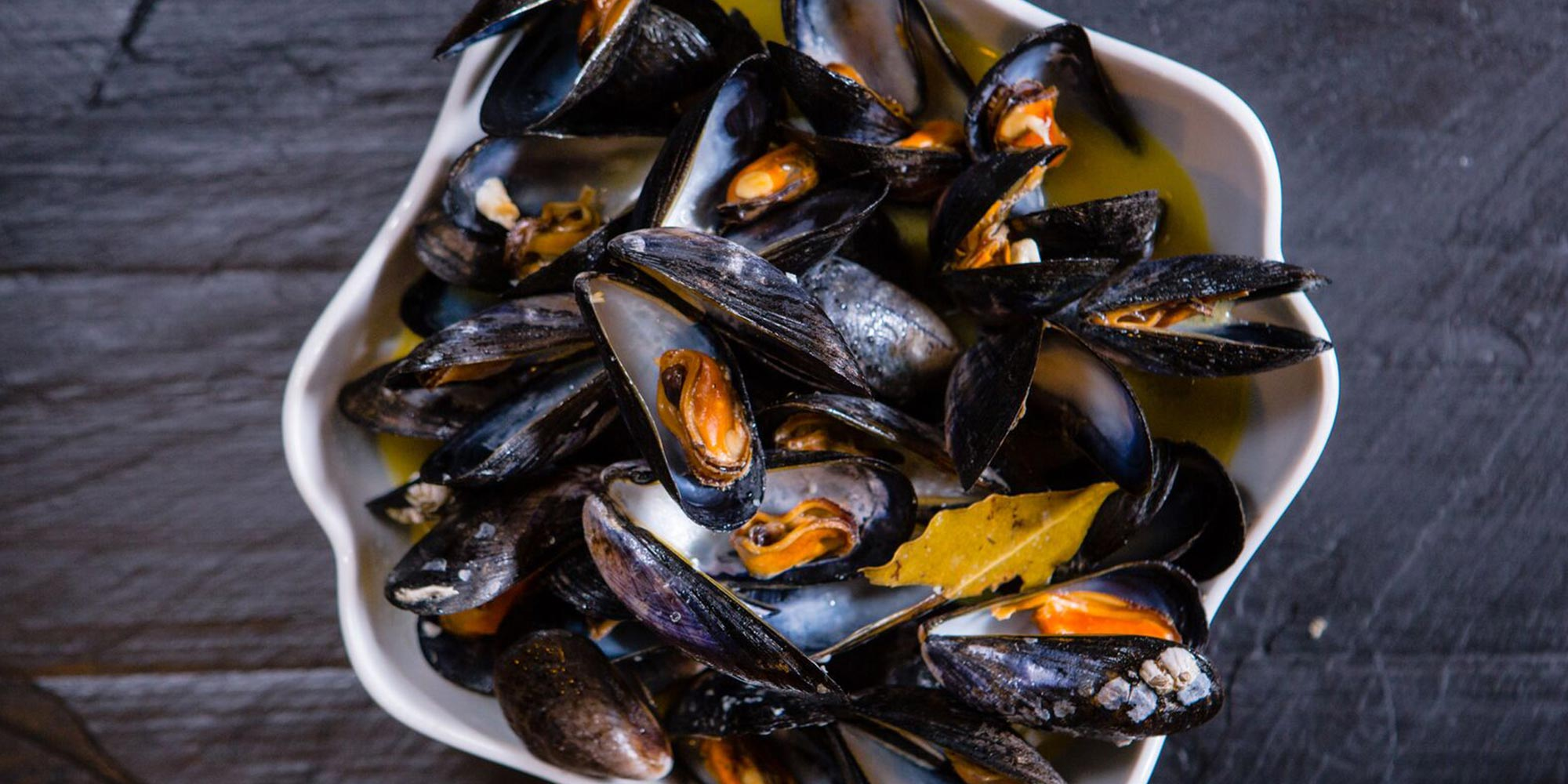 Moran's Oyster Cottage - Steamed Mussels